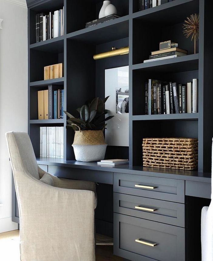 98 Perfect Home Office Decoration Models And Tips For Making Them 52