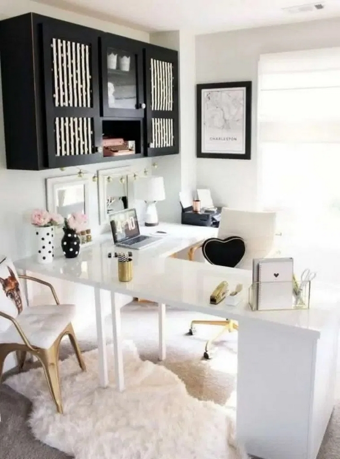 98 Perfect Home Office Decoration Models And Tips For Making Them 67