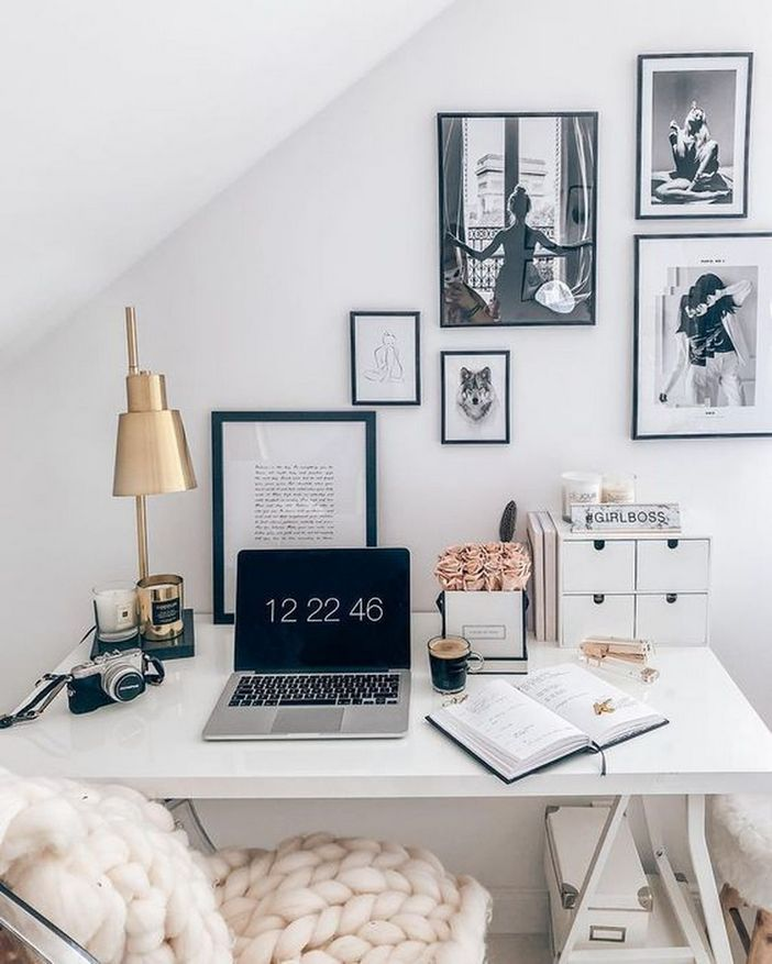 98 Perfect Home Office Decoration Models And Tips For Making Them 96