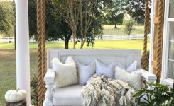 71 Beautiful Swing Models For Your Front Or Back Porch 4