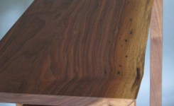 Live Edge Wood Console Table 36