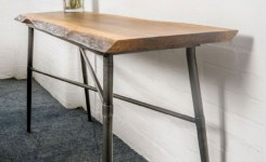 Live Edge Wood Console Table 51