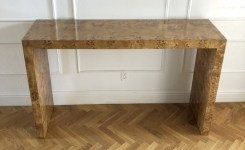 Wood Waterfall Console Table 2