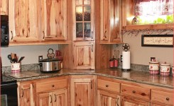 Hickory Kitchen Cabinets On Rustic Hickory Kitchen Cabinets Of Rustic Hickory Kitchen Cabinets