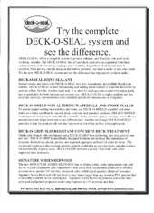 deck-o-seal