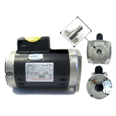 Aqua-Flo Dominator High-Head & Ultra-Flow Pump Motor 0.75 HP B847