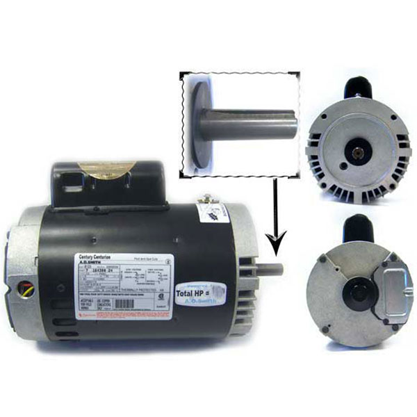 Aqua-Flo Medium-Head A-Series Polaris Booster Pump Motor 3/4 HP B121