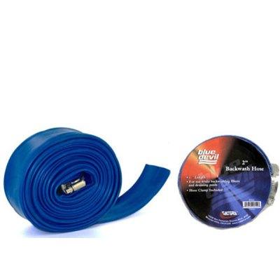 Blue Devil Backwash Hose  2in 75ft W/CLAMP B8256