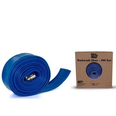 Blue Devil Backwash Hose  2in x 200ft W/CLAMP B8202X