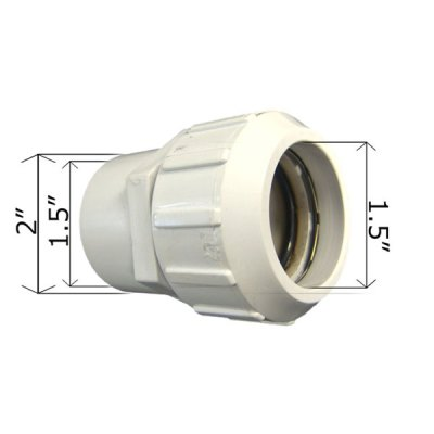 CMP Adapter 1.5in. Copper to 2 in. / 1.5in. PVC 21098-150-000