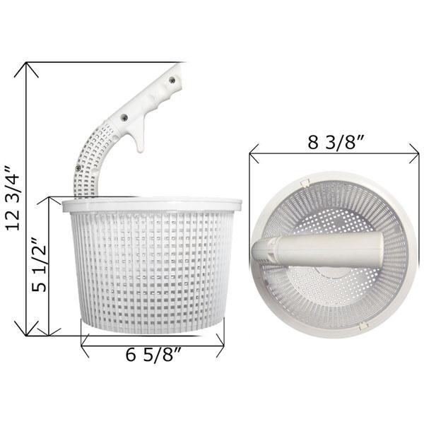 CMP Vented Handle FlowSkim Skimmer Basket 27182-300-000