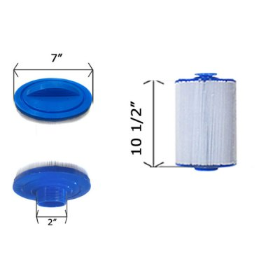Cartridge Filter Dimension One Spas 7CH-552