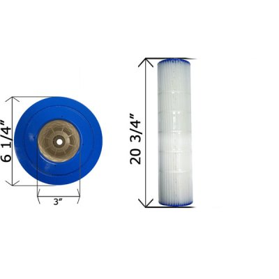 Cartridge Filter Pentair Quad D.E. 60 178654 C-6960