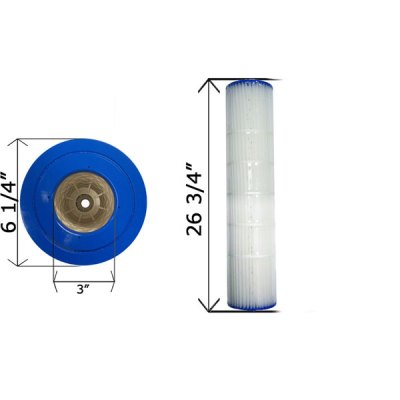 Cartridge Filter Pentair Quad D.E. 80 178655 C-6980