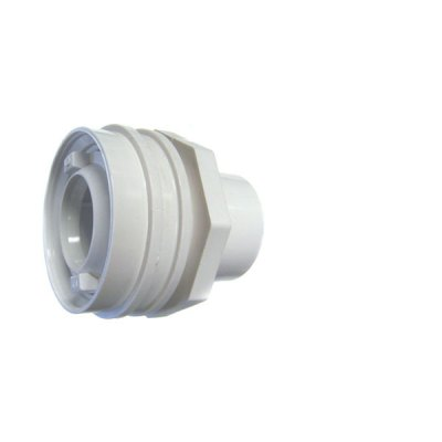 Flush Mount Return Fitting White 1 inch Socket Waterway 400-9190