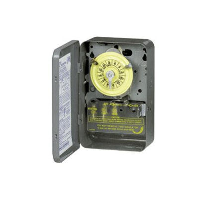 Intermatic 220V Mechanical Timer Steel Case T104