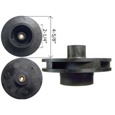 Jandy Impeller A0580902 SHP 0.75 Pump PHP 1 HP R0445302