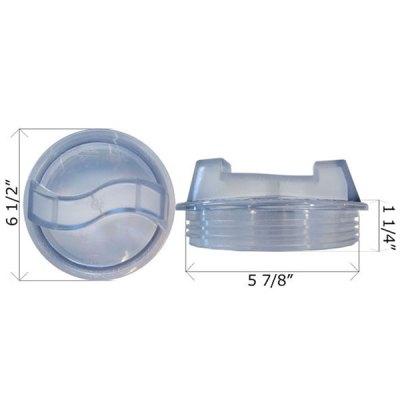 Max-E-Glas Dura-Glas Pump Sta-Rite Lid 16920-0011 V26-363