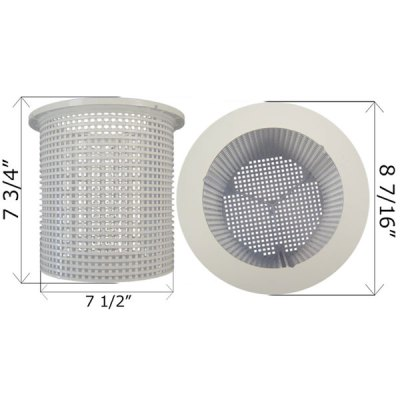 Pentair American Skimmer Basket B-37 R38013A