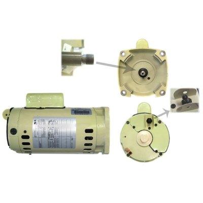 Pentair 2 Speed 2 HP SuperFlo WhisperFlo Pump Motor 071321S