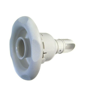 Pool Spa Adjustable 5 Scallope White Jet Waterway 212-2050