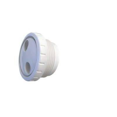 Pool Spa Pulsator Fitting White 1 1/2 inch MPT Waterway TS101 212-9170