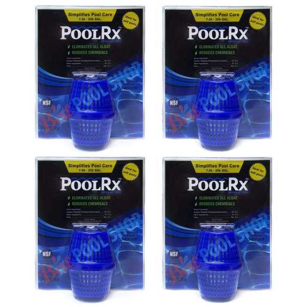 PoolRx 7.5K-20K Pools Blue Mineral Unit 101001 - 4 Pack