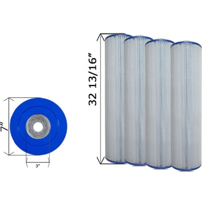 Cartridge Filter Hayward CX1280RE C-7494 - 4 Pack