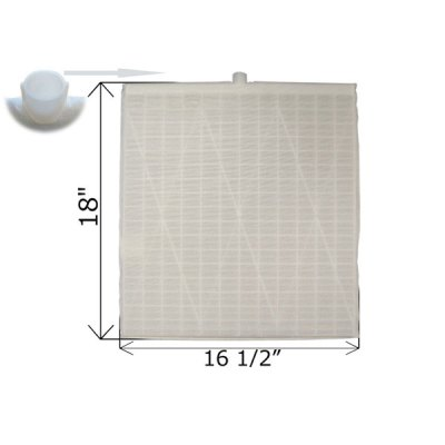 Rectangular DE Grid 18 in. x 16 1/2 in. FG-3016 FC-9845