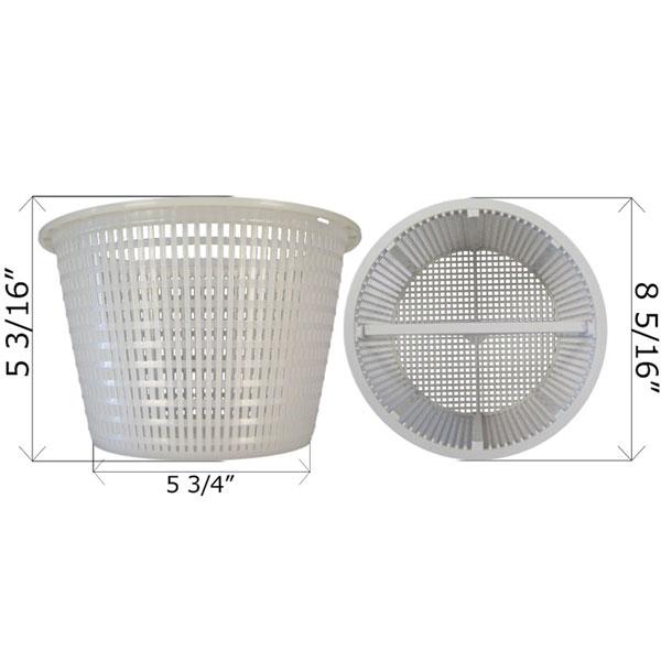 Sta-Rite U-3 Skimmer Basket 08650-0007 R38008 B-9