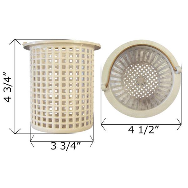 Swim-Rite Aqualine Standard Holes Pump Basket 5 in. P-3