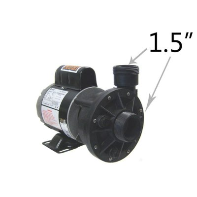 Waterway 1 Speed 0.125 HP 230V Spa Pump 3410020-1E