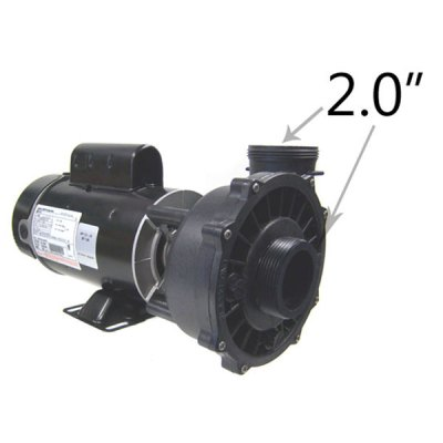 Waterway 2 Speed 1.0 HP 115V Spa Pump 3420410-1A