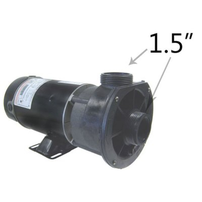 Waterway 2 Speed 2.0 HP 230V Spa Pump 3420820-15