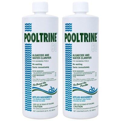 Applied Biochemists Pooltrine 60 Algeacide Clarifier 407303 - 2 Pack