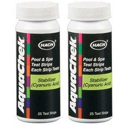 AquaChek Pool Water Cyanuric Acid Test Strips 561219 - 2 Pack