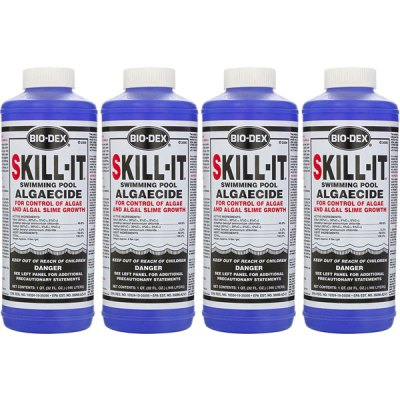 Bio-Dex Fast Acting Pool Algaecide Skill-It 32oz. SK132 - 4 Pack