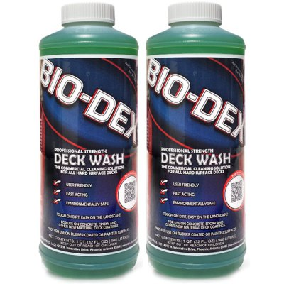 Bio-Dex Swimming Pool Deck Cleaner DC032 - 2 Pack
