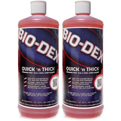 BioDex Quick N Thick Tile Cleaner 32oz.  QT032 - 2 Pack
