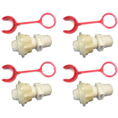 Booster Pump Polaris Softube Quick Connect  P133 P-133 - 4 Pack