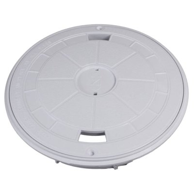 CMP White Round Skimmer Cover Collar 25544-900-000