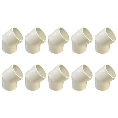 Dura Slip 45 Degree Elbow 2-1/2 in. 417-025 - 10 Pack