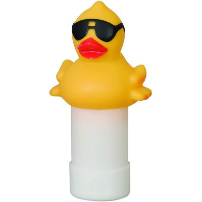 Game Derby Duck 1 in. Spa Bromine Tablet Feeder Floater Dispenser 8000