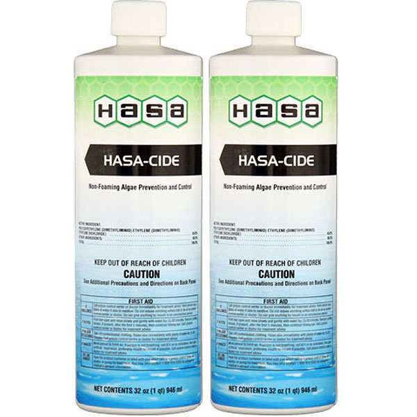 Hasa Hasa-Cide Algea Prevention & Control 74121 - 2 Pack