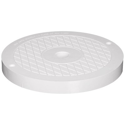 Hayward SP1080 Series Skimmer Lid Cover Round White SPX1084R
