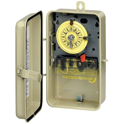 Intermatic Mechanical Timer In Metal Enclosure 110V SPST T101R3