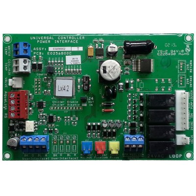 Jandy Universal Controller Power Interface Board LXi Heater R0458200