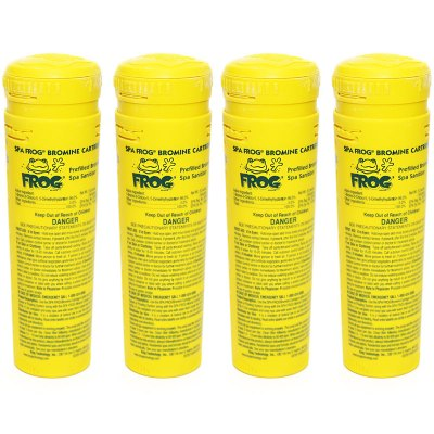 King Technology Spa Frog Bromine Cartridge 01-14-3824 - 4 Pack