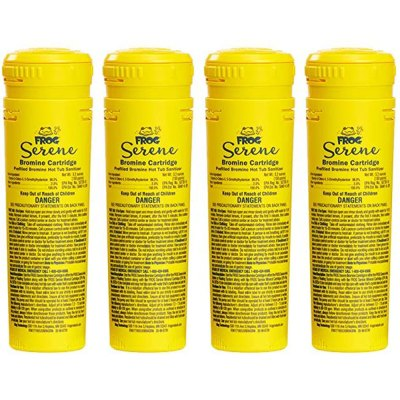King Technology Spa Frog Floating System Bromine Cartridge 01-14-3824 - 4 Pack