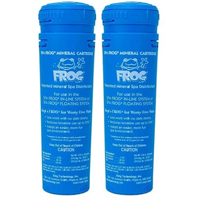 King Technology Spa Frog Floating System Mineral Cartridge 01-14-3812 - 2 Pack